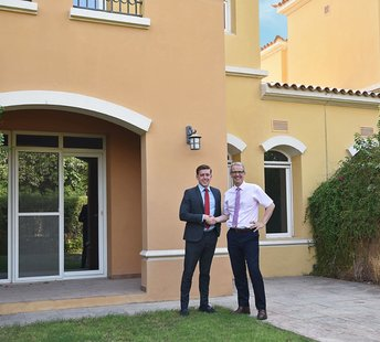 latest news A great villa within four days of arriving into the country